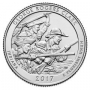 2017 George Rogers Clark Quarters for Indiana in Rolls and Bags