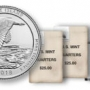 Block Island Quarters for Rhode Island in Rolls and Bags
