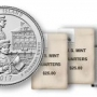2017 Ellis Island Quarters for New Jersey in Rolls and Bags