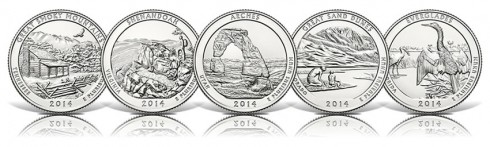2014 National Park Quarters
