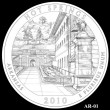Hot Springs Park Quarter Design AR-01 (Click to Enlarge)