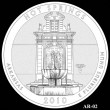 Hot Springs Park Quarter Design AR-02 (Click to Enlarge)