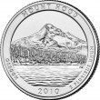 Mount Hood National Forest Quarter