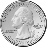 Park Quarter Obverse