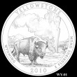 Yellowstone Park Quarter Design WY-01 (Click to Enlarge)