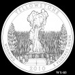 Yellowstone Park Quarter Design WY-03 (Click to Enlarge)