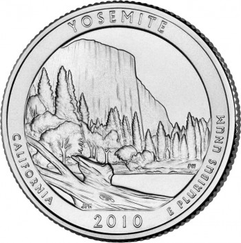 Yosemite National Park Quarter
