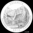 Yosemite Park Quarter Design CA-01 (Click to Enlarge)