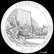 Yosemite Park Quarter Design CA-03 (Click to Enlarge)