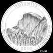 Yosemite Park Quarter Design CA-04 (Click to Enlarge)