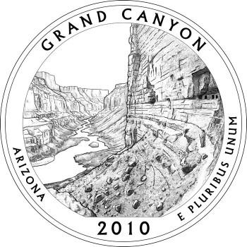 Grand Canyon National Park Quarter Design
