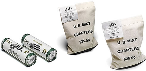 Hot Springs Quarter Bags and Rolls
