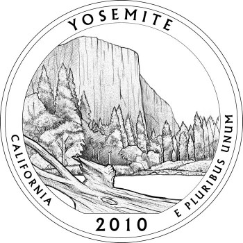 Yosemite National Park Quarter Design