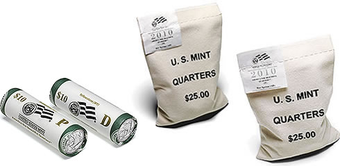 2010 Yellowstone National Park-Quarter Rolls and Bags