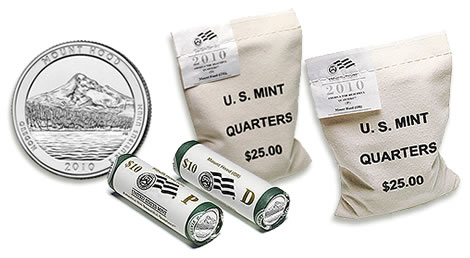 Mount Hood National Forest Quarter Rolls and Bags