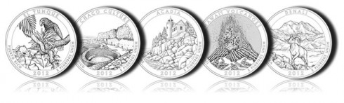 2012 National Park Quarters and National Forest Quarter