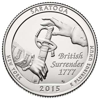 2015 Saratoga National Historical Park Quarter