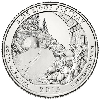 Blue Ridge Parkway Quarter