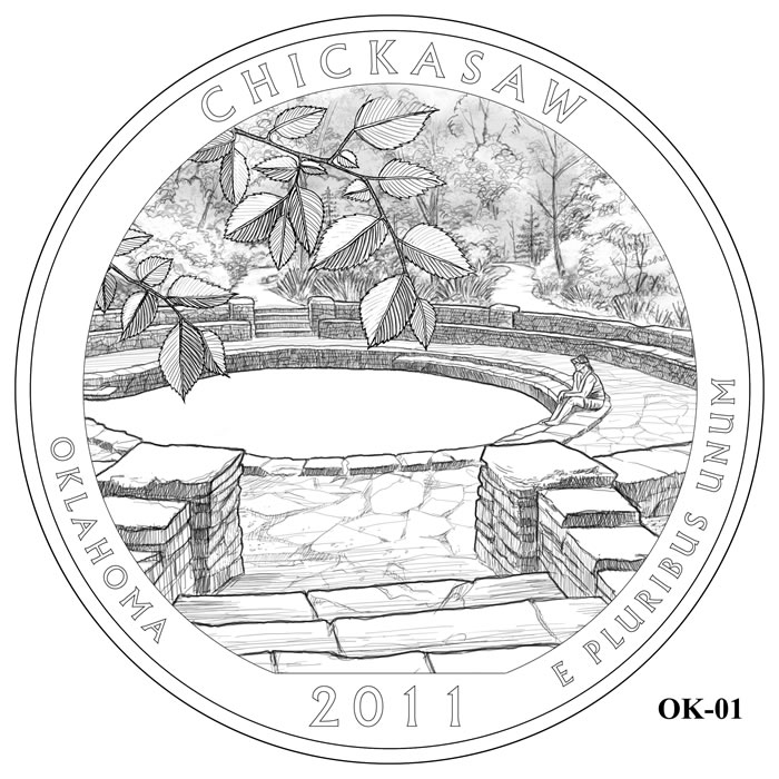 Chickasaw National Recreation Area Design OK-01