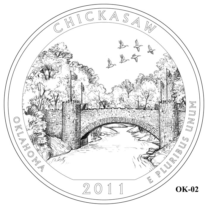 Chickasaw National Recreation Area Design OK-02