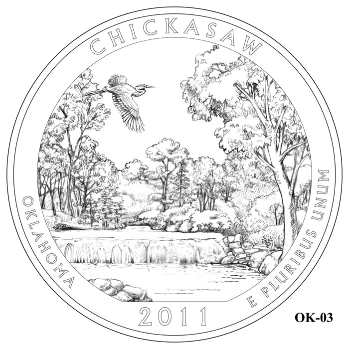 Chickasaw National Recreation Area Design OK-03