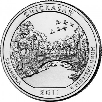 Chickasaw National Recreation Area Quarter