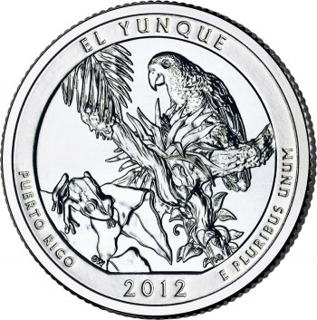 El Yunque National Forest Quarter