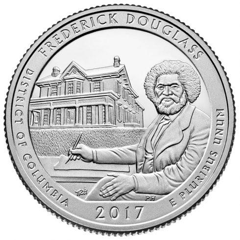 Frederick Douglass National Historic Site Quarter for Washington, DC