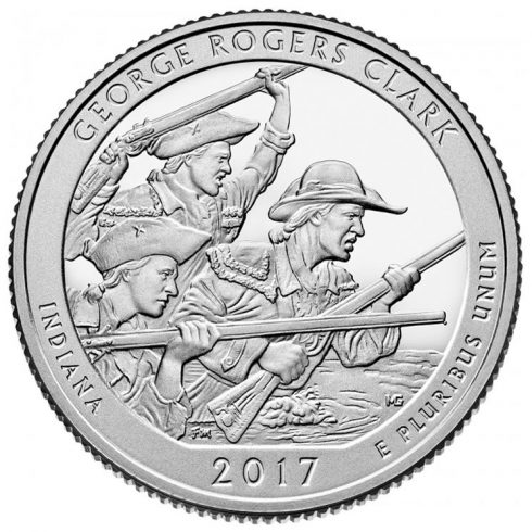 George Rogers Clark National Historical Park Quarter for Indiana