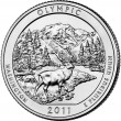 Olympic National Park Quarter (US Mint image)