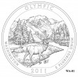 Olympic National Park Quarter Design WA-01 (Click to Enlarge)