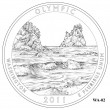 Olympic National Park Quarter Design WA-02 (Click to Enlarge)