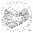 Olympic National Park Quarter Design WA-03 (Click to Enlarge)