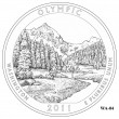 Olympic National Park Quarter Design WA-04 (Click to Enlarge)