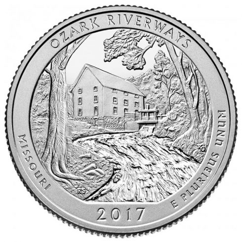 Ozark National Scenic Riverways Quarter for Missouri