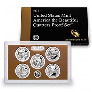 US Mint 2011 America the Beautiful Quarters Proof Set