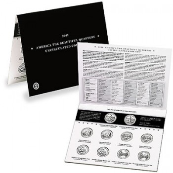 2011 Uncirculated Quarters Set