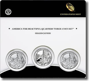Grand Canyon National Park Quarter Three-Coin Set