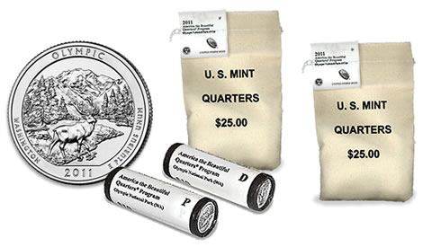 Olympic National Park Quarter Rolls and Bags