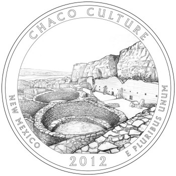 2012 Chaco Culture National Park Quarter Design
