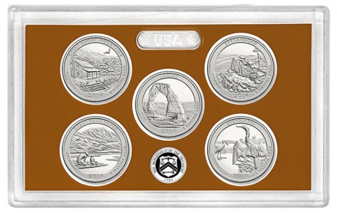 2014 Proof National Park Quarters