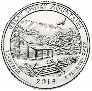 Great Smoky Mountains National Park Quarter