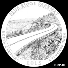 Blue Ridge Parkway Quarter Design BRP-01