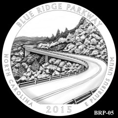 Blue Ridge Parkway Quarter Design BRP-05