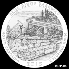 Blue Ridge Parkway Quarter Design BRP-06