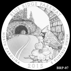 Blue Ridge Parkway Quarter Design BRP-07