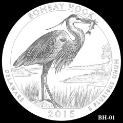 Bombay Hook National Wildlife Refuge Quarter Design BH-01
