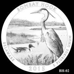 Bombay Hook National Wildlife Refuge Quarter Design BH-02