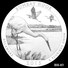 Bombay Hook National Wildlife Refuge Quarter Design BH-03