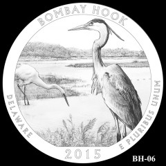 Bombay Hook National Wildlife Refuge Quarter Design BH-06